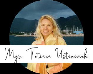 Mgr. Tatiana Ustinovich